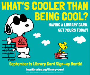 Snoopy_Library_card